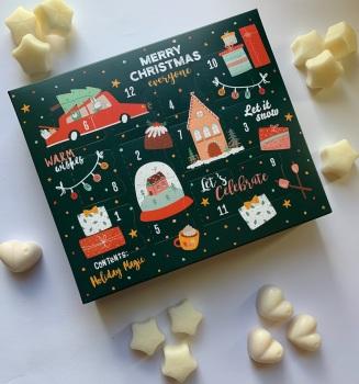 Christmas Advent Calendar - Mella 12 Day Wax Melt Christmas Countdown    **PRE-ORDER**