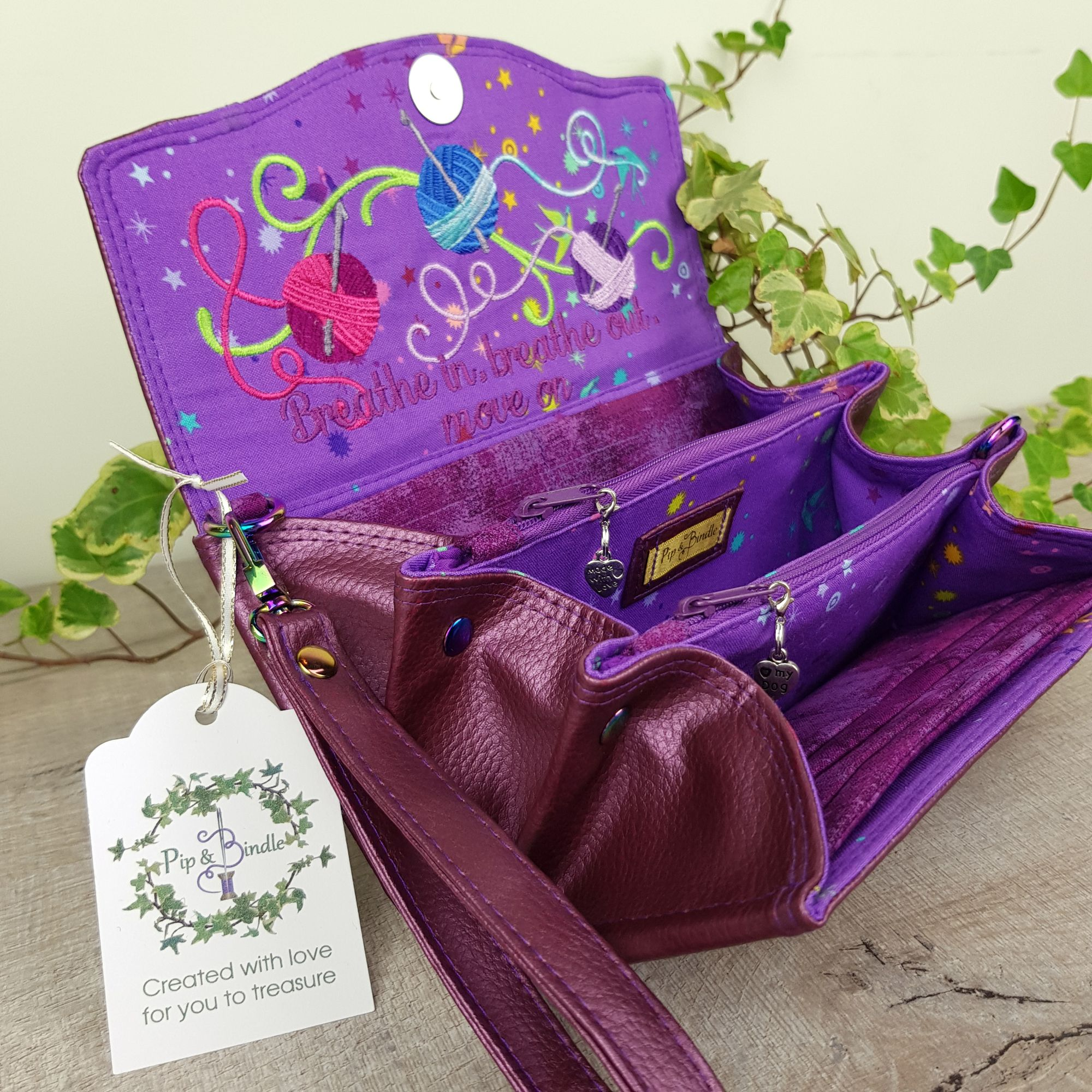Customised-clutch-wallet-from-pip-and-bindle