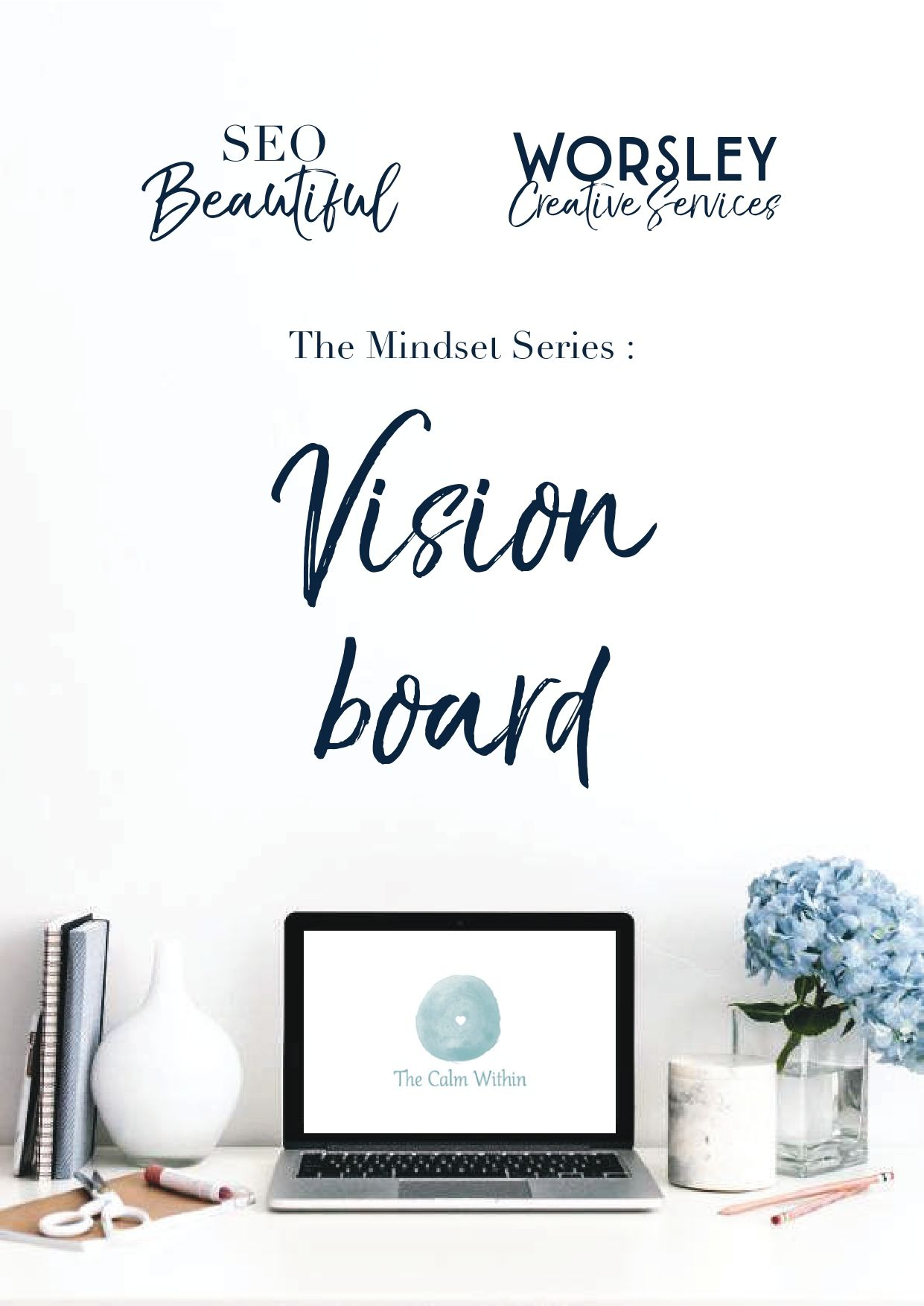 SEO Beautiful Vision Board Cover