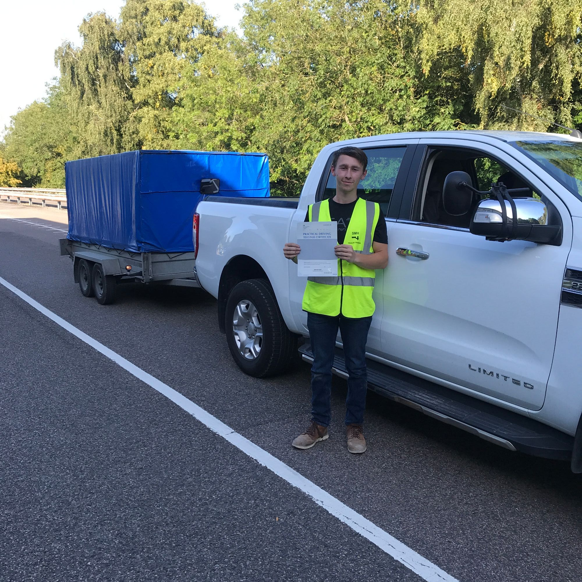 Trailer Towing Test Pass in Kent
