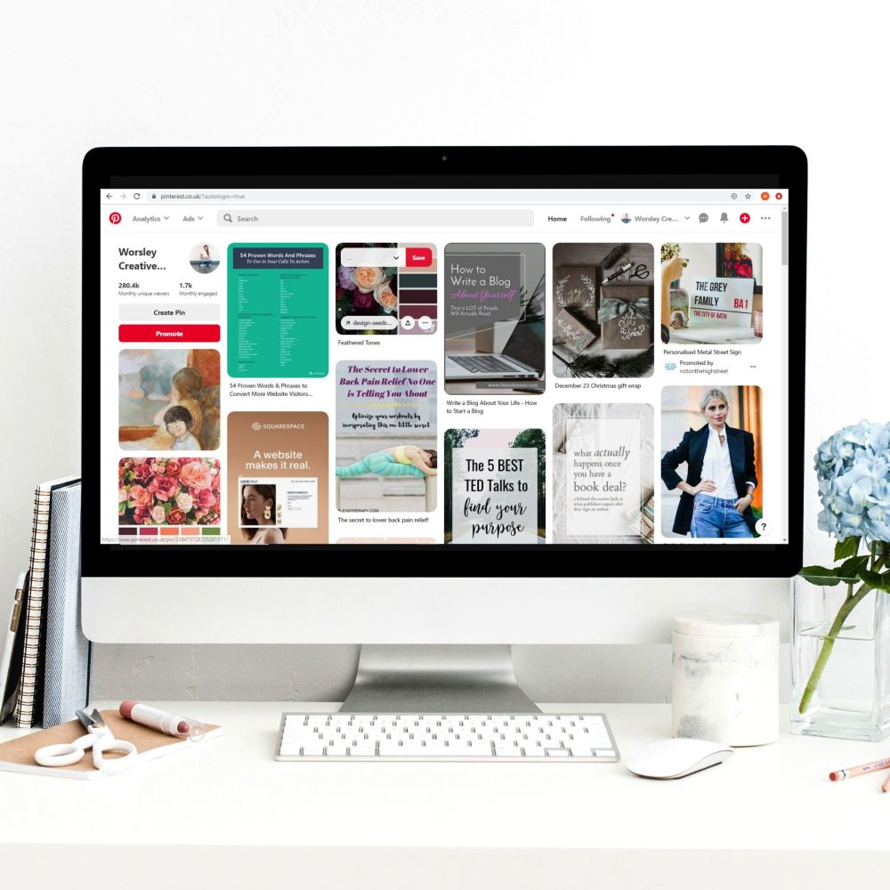 Online Pinterest Complete Workshop - 2nd Feb 2pm-5pm