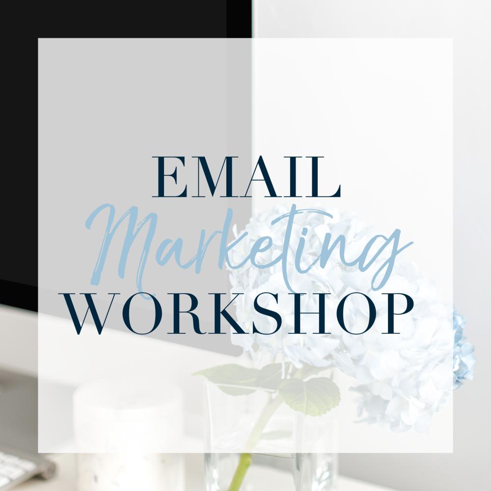 Online Email Marketing Workshop