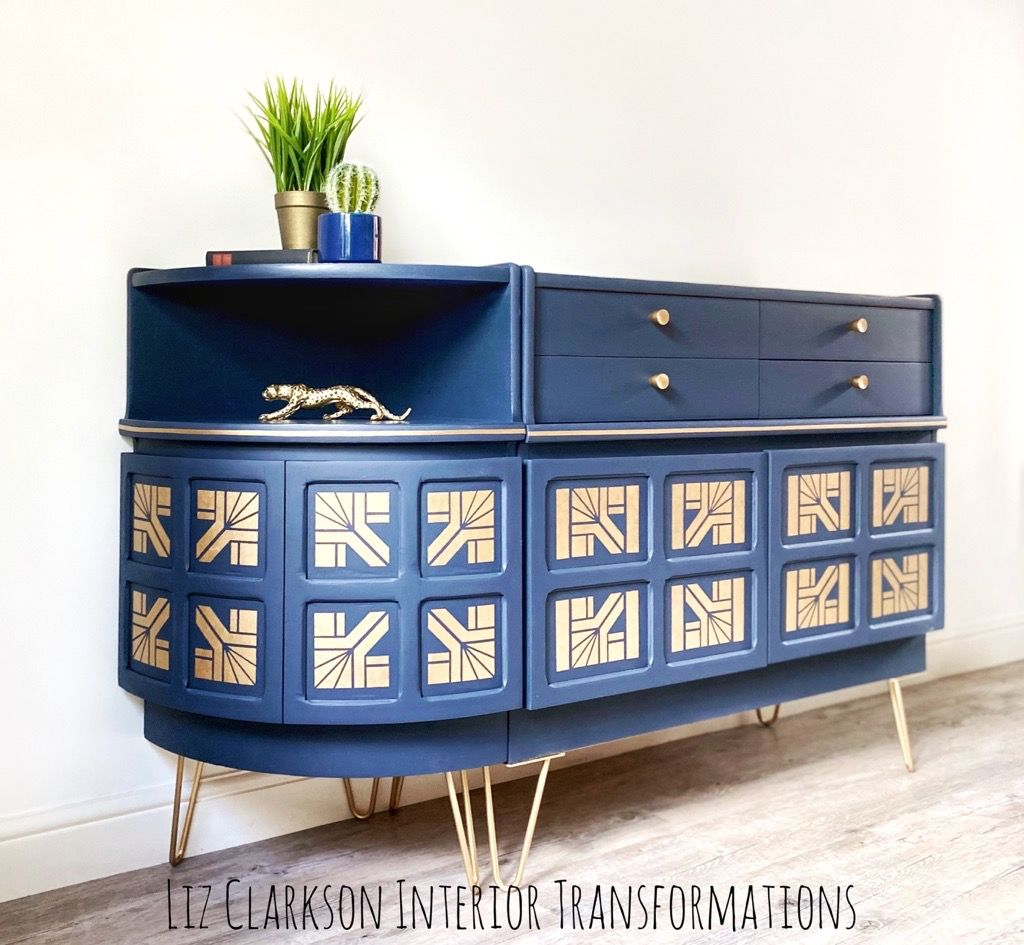 Nathan Art Deco inspired Sideboard & Corner unit 1.jpg