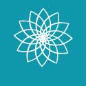 TRC logoflowerblue