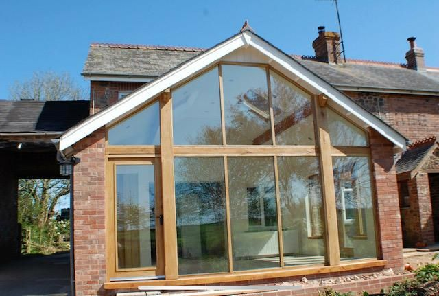 Oak extension elevation