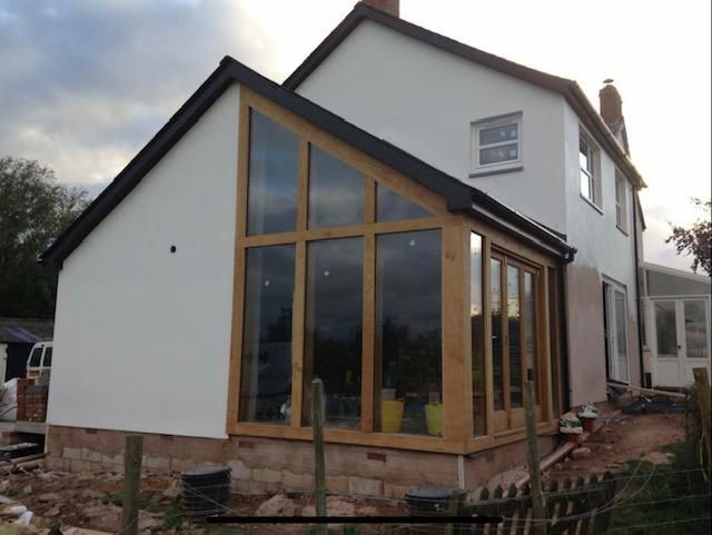 Oak extension and reno