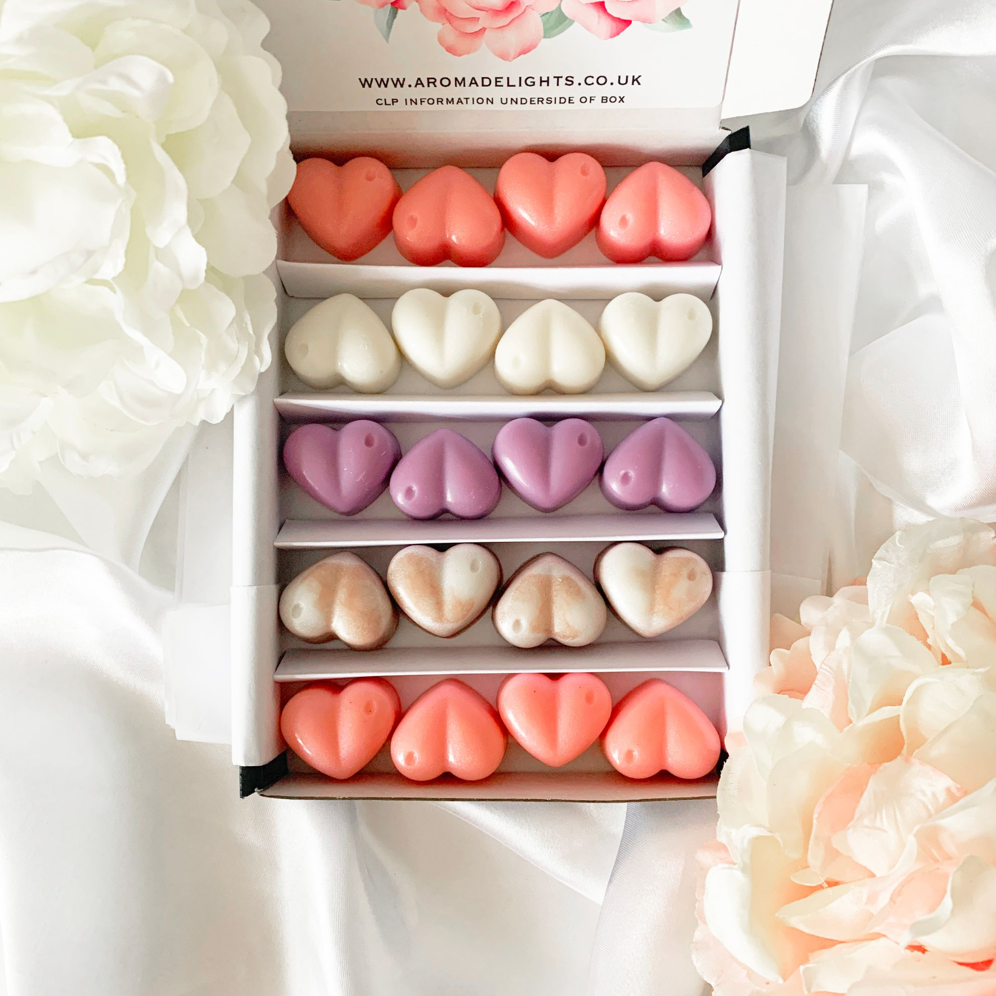 White Mother's Day Wax Melt Gift Box