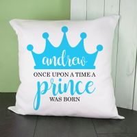 Once Upon A Time Prince Was Born Cushion Cover
