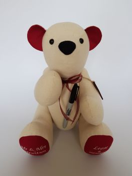 Signature Bear with Pen