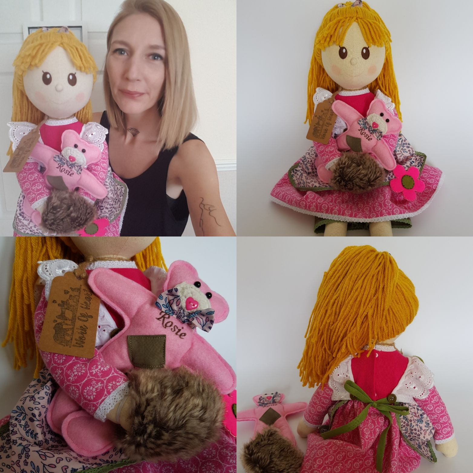 Keepsake Raggy Doll