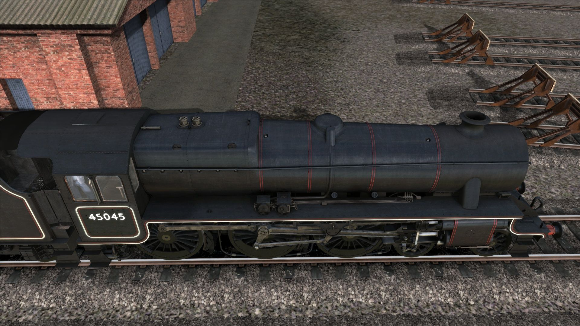 LMS Black 5 - The Domeless Engines