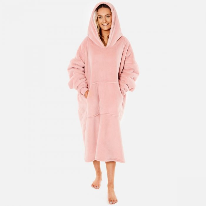 Super soft long hoodie blanket, sherpa blanket, always cold, gift for winter, winter blanket, snuggly blanket, gift for her