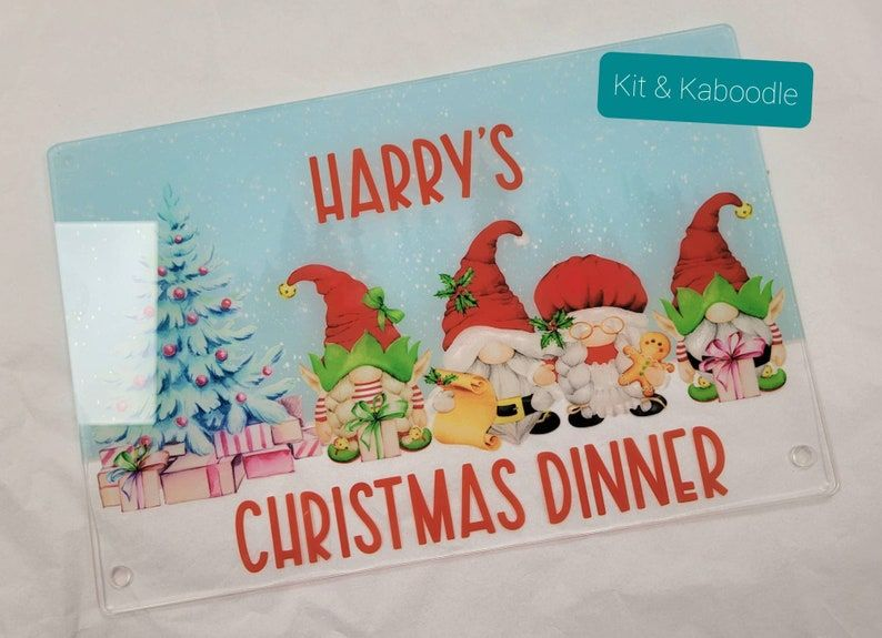 Christmas dinner placemat, christmas table, placemat for children, christma