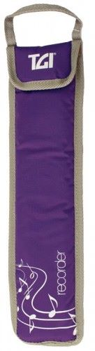 TGI Descant Recorder Bag - Purple