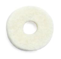 Valve Washer Felt, 14.3mm OD x 4.8mm Hole x 2.4mm thick