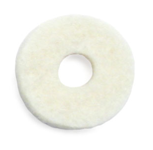 Valve Washer Felt, 14.3mm OD x 4.8mm Hole x 2.4mm thick