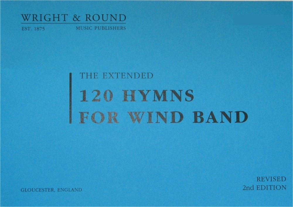 120 Hymns For Wind Band - A4 Large Print