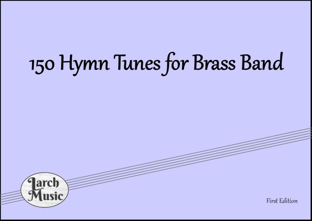 <!-- 010 -->150 Hymn Tunes For Brass Band - Bass Trombone (Bass Clef) A4 La
