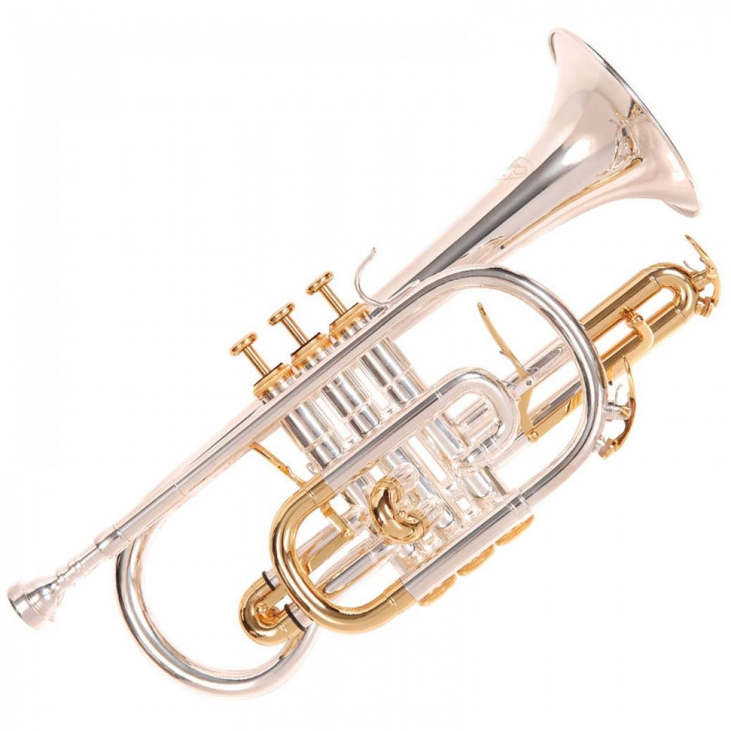Odyssey Premiere 'Bb' Cornet Outfit - Silver Plated