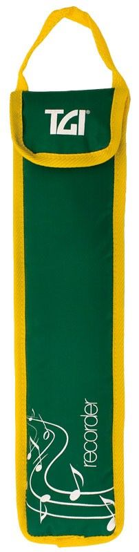 TGI Descant Recorder Bag - Green