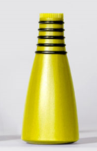 Vhizzper Bb Trumpet Practice Mute - Yellow