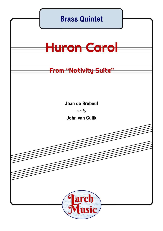Huron Carol - Brass Quintet