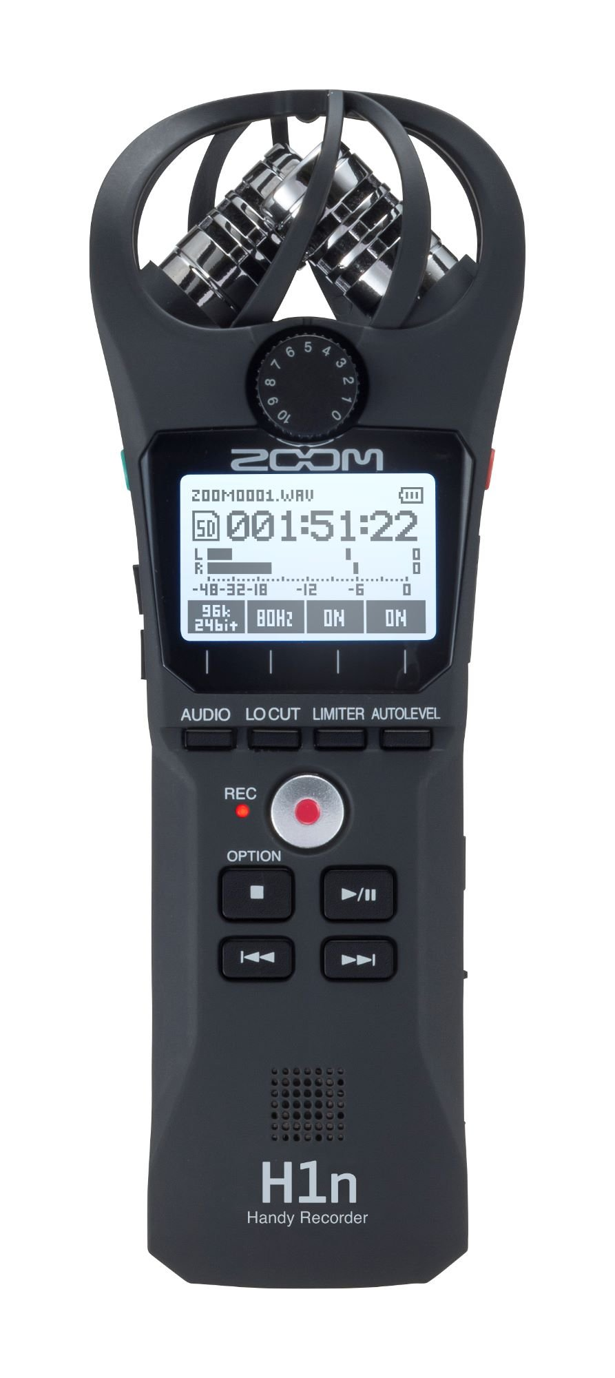 Zoom H1n Recorder, Black
