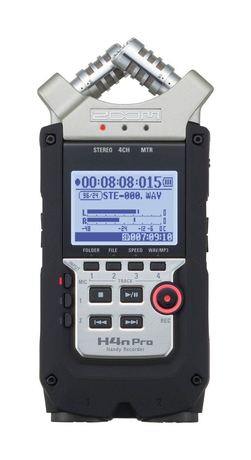 Zoom H4N Pro Handy Recorder Product