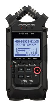Zoom H4N Pro BLACK EDITION Handy Recorder Product