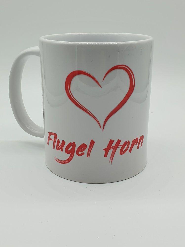 I Love Flugel Horn - Printed Mug