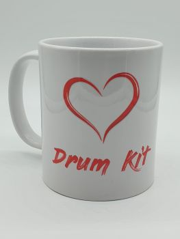 I Love Drum Kit - Printed Mug