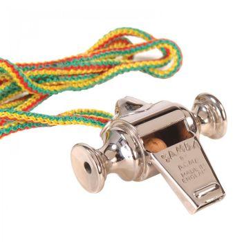 Acme Silver Mardi Gras Samba Whistle