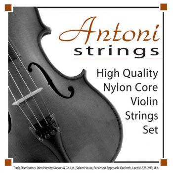 Antoni Violin String Set - Size 1/2 & 1/4