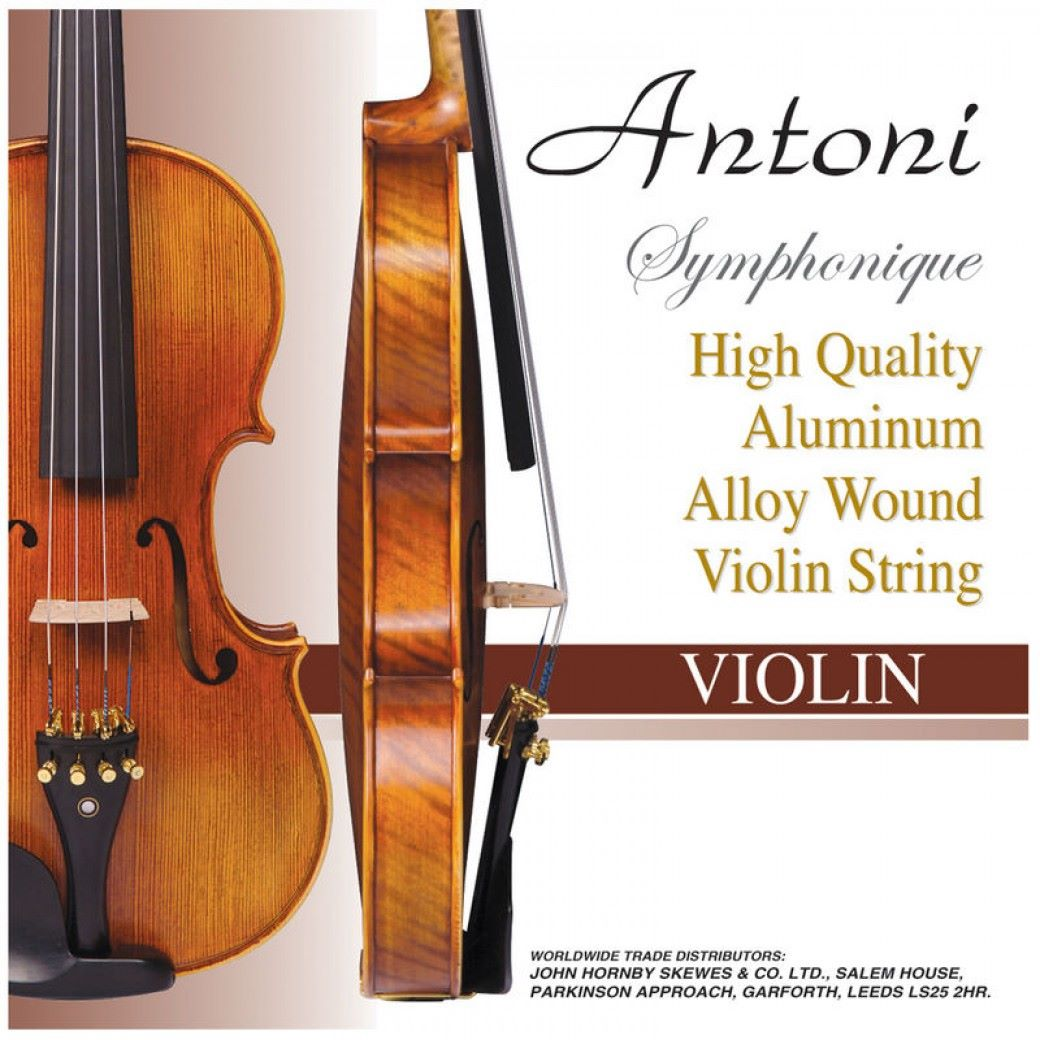 Antoni Symphonique Violin String Set - Size 3/4 & 4/4