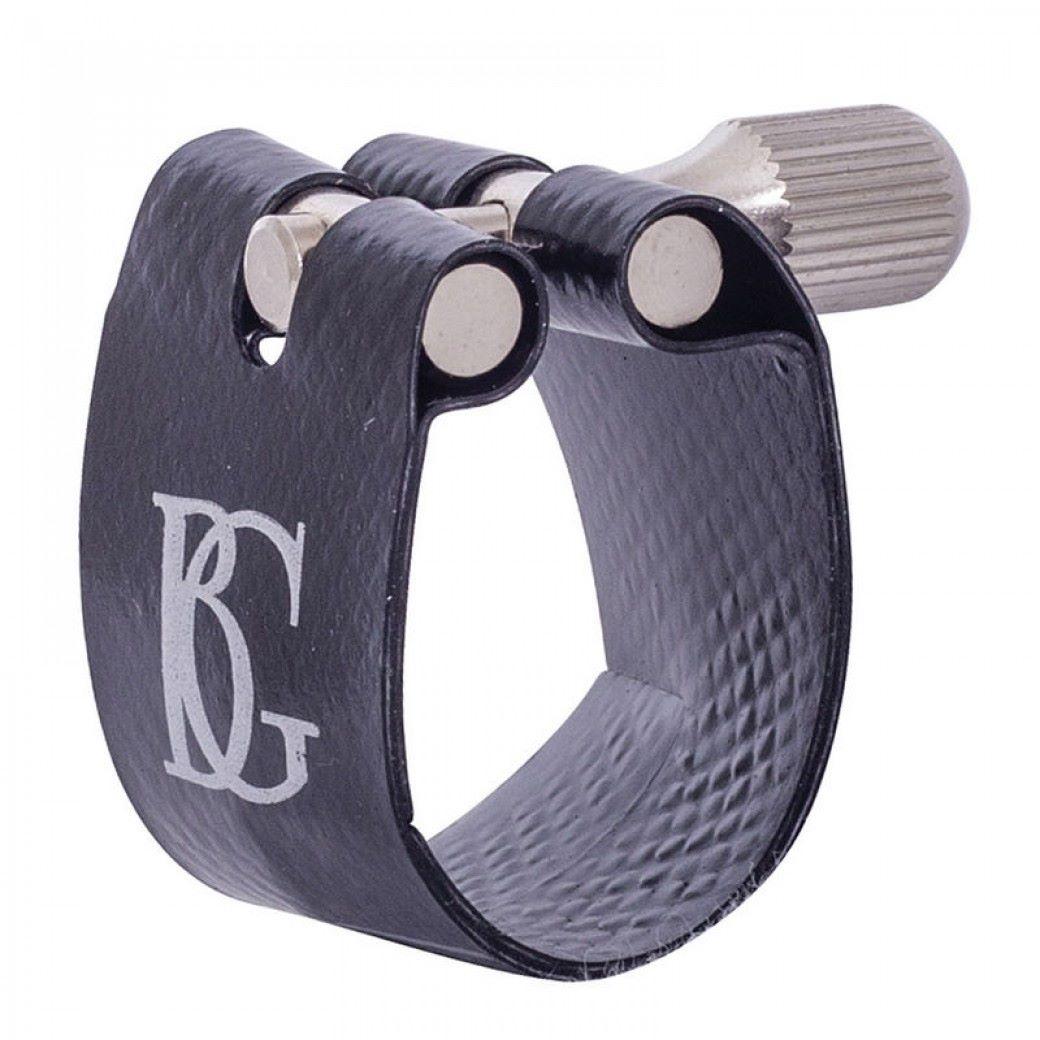 BG Flex Fabric Ligature - Bb Clarinet - Silver Plated