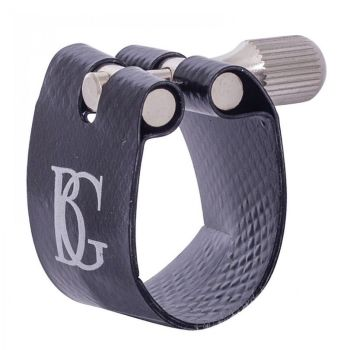 BG Flex Fabric Ligature - Bb Clarinet - Silver Plated