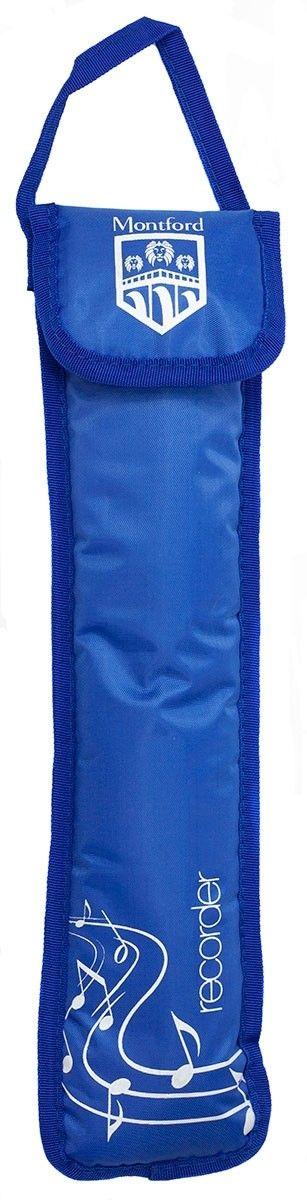 Mountford Descant Recorder Bag - Blue