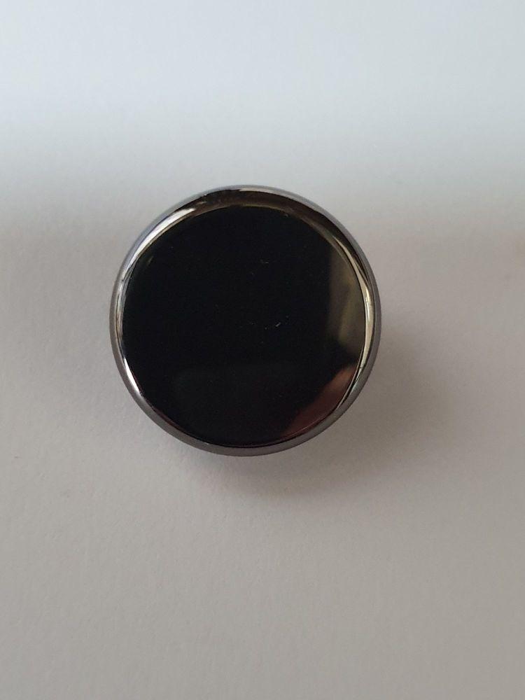 Geneva Finger Button - Cornet Black