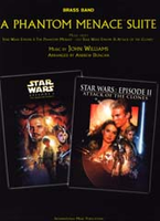 A Phantom Menace Suite (Star Wars) - Brass Band Score Only