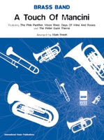 A Touch of Mancini - Brass Band Score Only