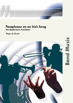Paraphrase On An Irish Song - Brass Band Score Only