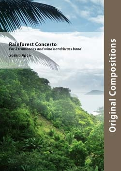 Rainforest Concerto - Brass Band Score Only