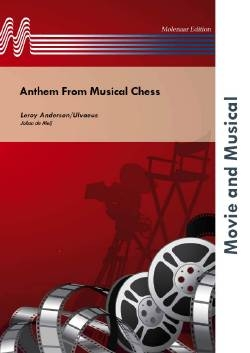 Anthem From Musical Chess - Brass Band Score Only