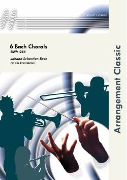 6 Bach Chorals - Brass Band Score Only