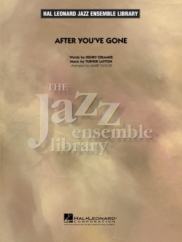 After you've gone - Score Only