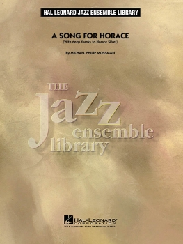 A Song For Horace - Score Only