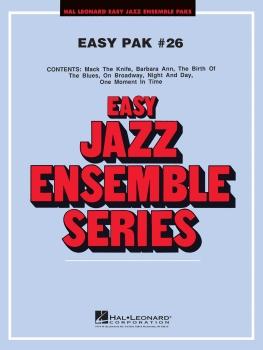 Easy Jazz Ensemble Pak 26 - Score Only