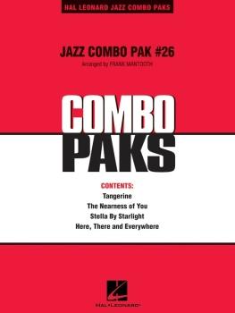 Jazz Combo Pak #26 - Score Only