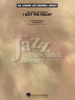 I Got The Feelin' - Score Only