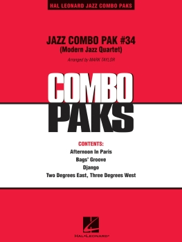 Jazz Combo Pack #34 - Score Only